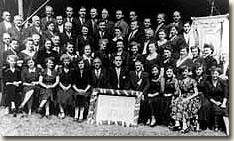 1953 feierte die Lyra ihr 25-jähriges Jubiläum